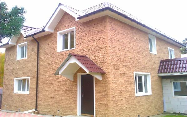 п. Патроны, фасадные панели